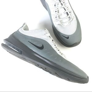 Nike Air Max Axis mens silver black sneakers 13
